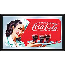"Coca-Cola ""Waitress with Coke"" Horizontal Mirror"