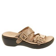670ffdab2fba ... Collection by Clarks Delana Liri Leather Slide Sandal ...