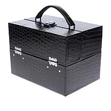 Colleen's Prestige™ Croco-Embossed Travel Train Case