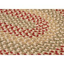 Colonial Mills Madison Braided Rug Roasted Brown.Colonial Mills Braided Rug Hsn