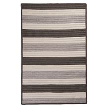 Colonial Mills Stripe-It Silver Rug