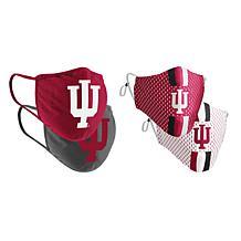 Colosseum Collegiate NCAA Team Logo Face Covering 4-Pk - Indiana