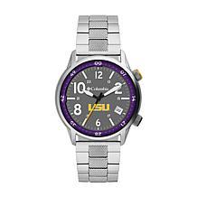 Columbia Men's Outbacker LSU Stainless Steel Bracelet Watch