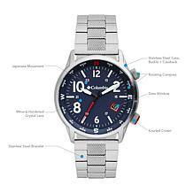 "Columbia ""Outbacker"" Men's Navy Dial Bracelet Watch"