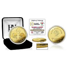 Commemorative 2018 Rose Bowl CFP Semifinal Gold Mint Coin