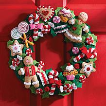 Wreath Felt Applique Kit