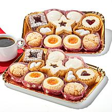 Cookies Con Amore 2 lb. Gift Box of Italian Cookies
