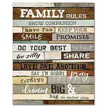 Courtside Market Family 16x20 Canvas Wall Art