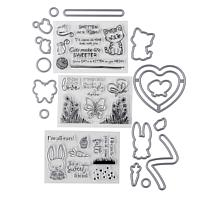 Crafter's Companion Animals Slider Stamp and Die Set