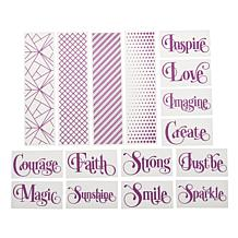 Crafter's Companion Embossing Folders - Sentiments and Borders