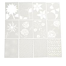 Crafter's Companion Floral Garden Layering Stencils