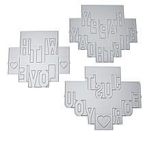 Crafter's Companion Shaped Sentiment Pop-Out Dies Auto-Ship®