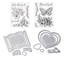 Crafter's Companion Stacked Easel Card Die Set