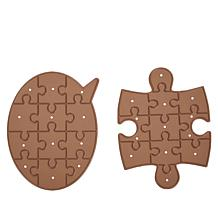 Crafter's Companion Statement and Missing Piece Puzzle Jigsaw Die Set