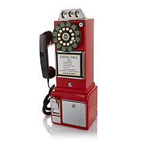 Crosley 1950s Replica Push-Button Payphone