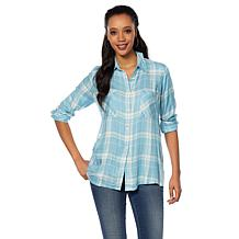 Daisy Fuentes Button Down Shirt