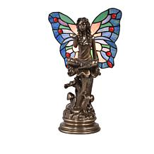 Dale Tiffany Winged Goddess Tiffany-Style Accent Lamp