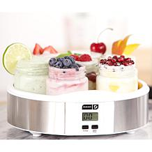 DASH 14-Jar Yogurt Maker with Recipes