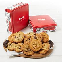 David's Cookies (2) 12-count Assorted Cookie Tins