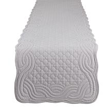 """Design Imports 13"""" x 72"""" Quilted Farmhouse Table Runner"""