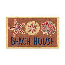 "Design Imports ""Beach House"" Doormat"