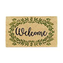 Design Imports Greenery Welcome Doormat