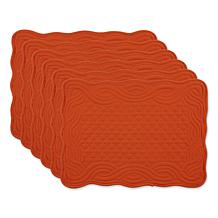 Design Imports Quilted Farmhouse Placemat 6-pack