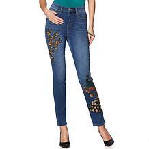 DG2 by Diane Gilman Virtual Stretch Novelty Skinny Jean