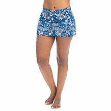 Dolfin Aquashape Santorini-Print A-Line Swim Skirt