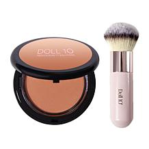 Doll 10 Golden Pearl Body Bronzer with No. 9 Brush