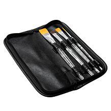 Donna Dewberry One Stroke 4-piece Brush Set with Storage Case