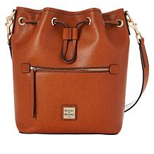 Dooney & Bourke Saffiano Leather Drawstring Bag