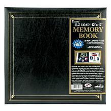 """E-Z Load Postbound Album 12"""" x 12"""" - Black"""