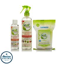Eat Cleaner Fruit + Vegetable Wash and Wipes Kit