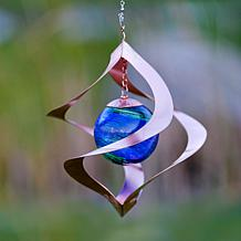 Echo Valley Wind Spinner Steel and Glass Spiral Spinner