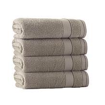 Enchante Home Monroe Set of 4 Turkish Cotton Bath Towels