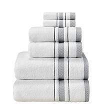 Enchasoft Zero-Twist Turkish Cotton 6-piece Towel Set