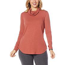 EZ by Nina Leonard Long-Sleeve Knit Tunic