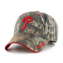 Fan Favorite Philadelphia Phillies MLB Mossy Oak Adjustable Hat