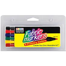 Fine-Tipped Fabric Marker - 6 Pack