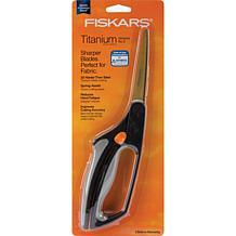 Fiskars Softouch Spring Action Titanium Nitride Scissor