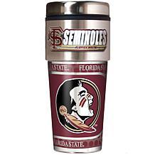Florida State Seminoles Travel Tumbler w/ Metallic Graphics and Tea...