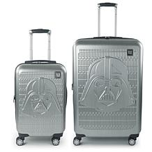 FUL Star Wars Darth Vader Embossed 2-piece Luggage Set