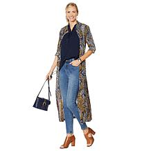 G by Giuliana Button-Down Duster Shirt