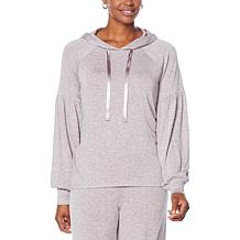 G by Giuliana LounGy Brushed Knit Pullover Hoodie