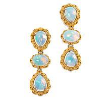Gems by Michael Valitutti Ethiopian Opal Drop Earrings