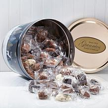 Giannios 5.5 lbs. Assorted Chocolates in Crystal Evening Tin