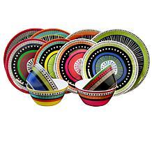Gibson Almira 12-piece Dinnerware Set in 4 Assorted Colors