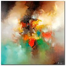 Zavaleta 'Abstract I' Canvas Art Print