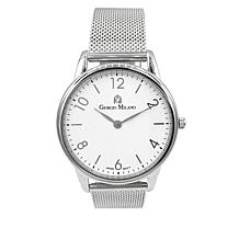 Giorgio Milano Stainless Steel Mesh Band Watch